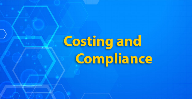 Costing and Compliance section