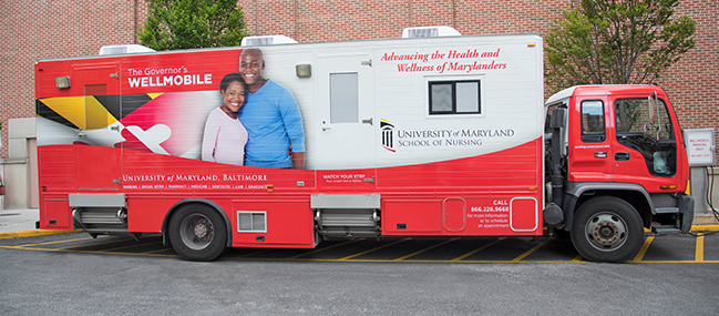Governor's Wellmobile - Institute for Clinical and Translational Research