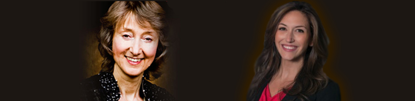2015 Speaker Series Banner Deborah and Jessica