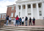 The UMB CURE Scholars take a tour of the University of Maryland, College Park campus.