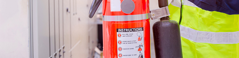 Fire and Occupational Safety Banner Image