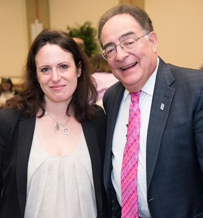 Maggie Haberman and Jay Perman 2