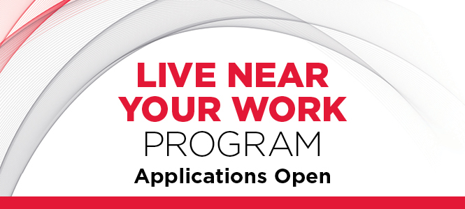 Live Near Your Work Program: Applications Open