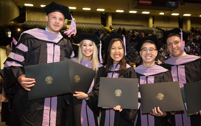 UMB Grads Urged to Follow Magee's Lead
