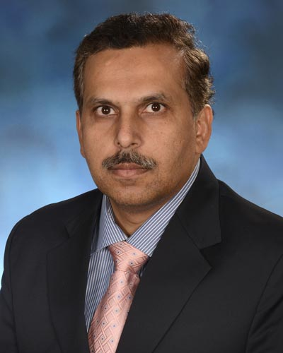 Zubair Ahmed, PhD, professor in the Department of Otorhinolaryngology-Head and Neck Surgery at the University of Maryland School of Medicine.