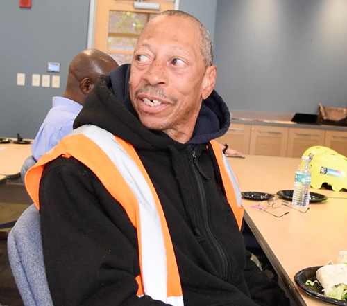 "Veteran Ivan Baylor, known as ""Bike Man,""is employed by Corps Logistics to maintain bikes and stations."