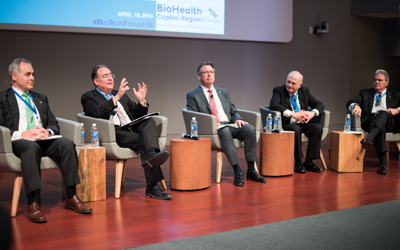 Perman, Caret Appear at BioTech Forum