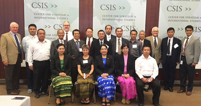 Center for Strategic and International Studies Conference on Malaria Elimination participants