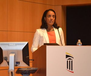 Elsie Stines, DNP, MS, CRNP, chairs UMB's Diversity Advisory Council.