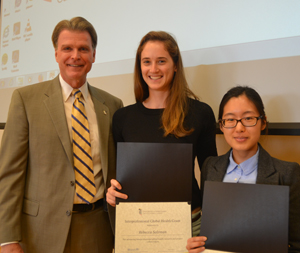 UMB students and faculty receive awards for contributions to international global health.