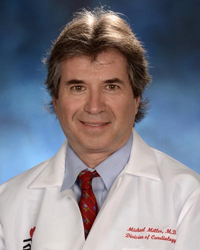 Michael Miller, MD, professor of cardiovascular medicine, epidemiology, and public health at the University of Maryland School of Medicine and director of the Center for Preventive Cardiology, University of Maryland Medical Center.