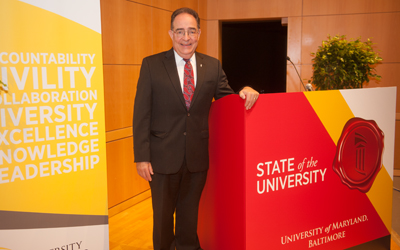 Perman Lauds 'Watershed Year' In State of University Address