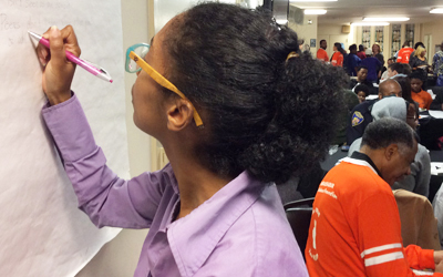 SSW Helps W. Baltimore Youth Find Ways to Heal City
