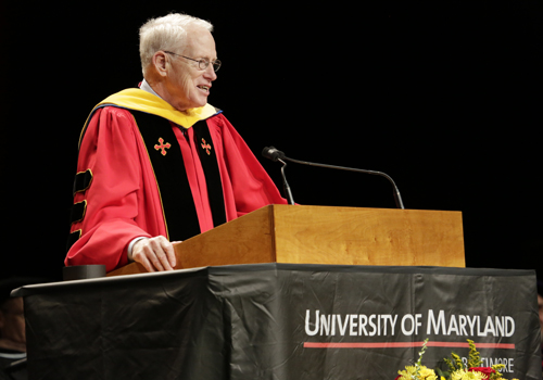 "William E. ""Brit"" Kirwan, PhD, chancellor of University System of Maryland"