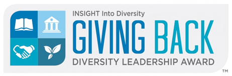 The INSIGHT into Diversity Giving Back Award will be presented to President Perman.
