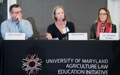 ALEI Managing Director Sarah Everhart, JD, in a panel entitled