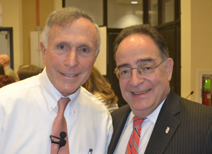 Ron Shapiro and UMB President Jay Perman