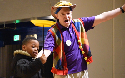 UMB Provides A Year of Play To Kids in Baltimore