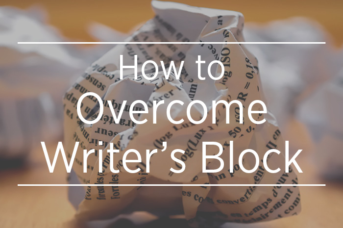 How to Overcome Writer's Block Title Card