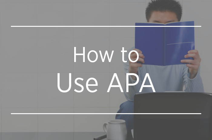 how to use apa
