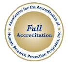 Full Accreditation by AAHRP