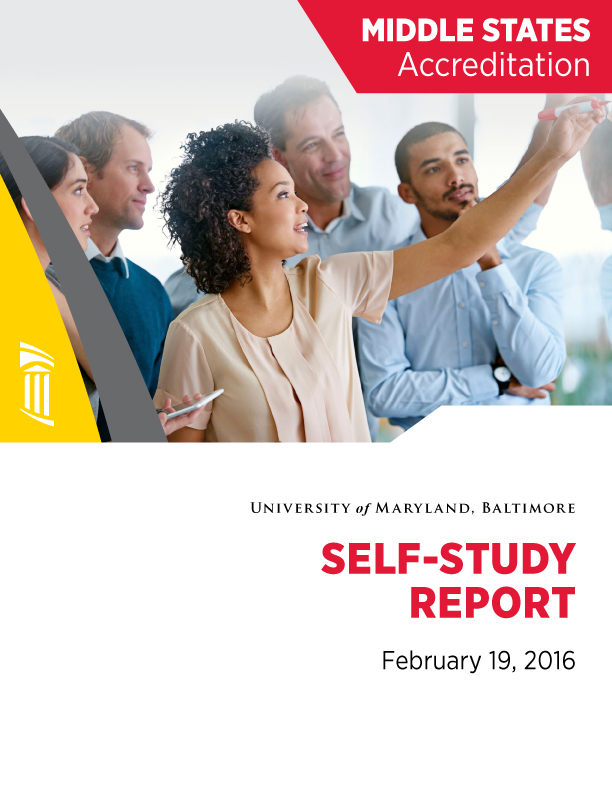 2016 Middle States Self-Study Report Cover