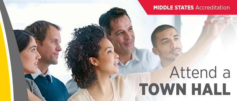 Middle States - Attend a Town Hall