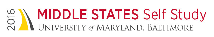 2016 Middle States Self Study, University of Maryland, Baltimore