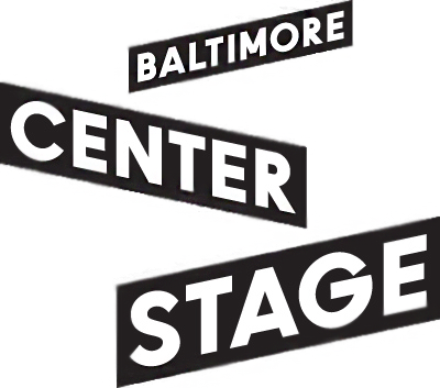 Baltimore Center Stage Logo - Black