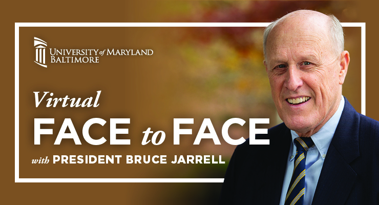 Virtual Face to Face with President Bruce Jarrell