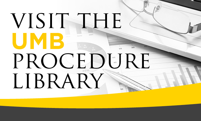 Visit the UMB Procedure Library
